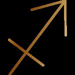 射手座の記号
