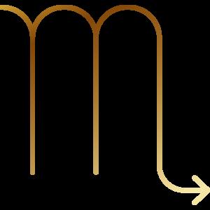 蠍座の記号